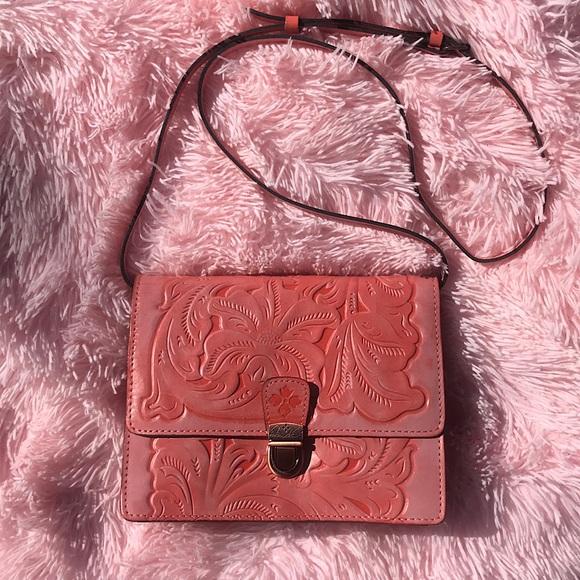 Patricia Nash NWT Tooled Crossbody Bag
